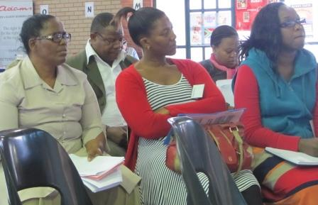 Teachers from Dloko High School, Umlazi
